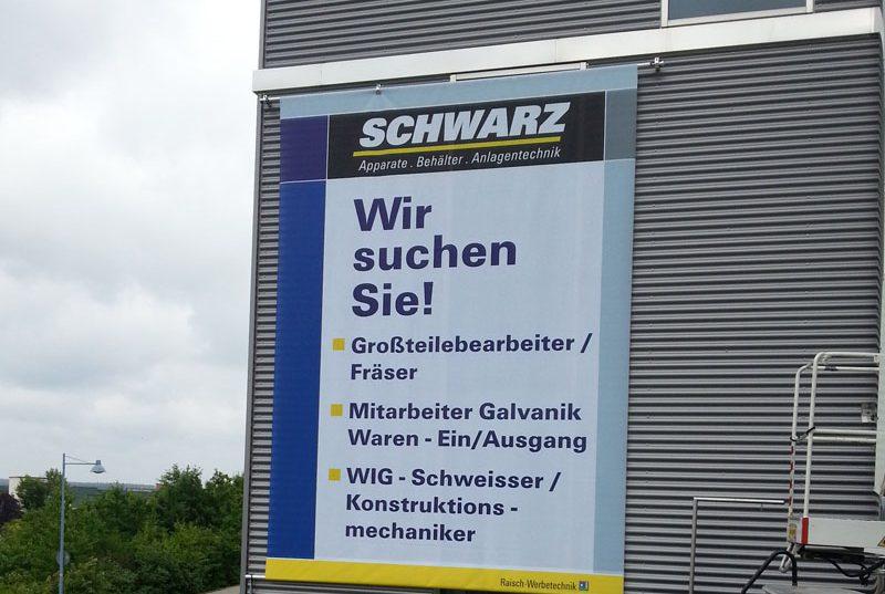 Plane Banner Werbebanner Werbung Spannbanner