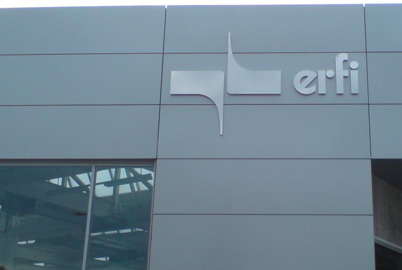 Profilbuchstaben Außenwerbung Fassadenwerbung
